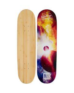 Eclipse Graphic Bamboo Skateboard