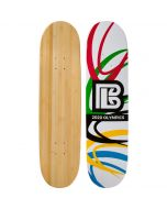 Olympic Slash Graphic Bamboo Skateboard ***DISCONTINUING***