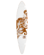 Trurute Hawaii Hook Pin Tail Longboard