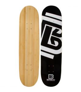 Diamond Graphic Bamboo Skateboard