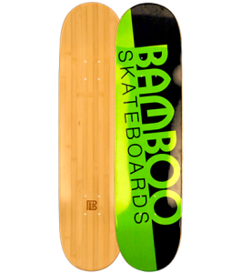 Original Slash Graphic Bamboo Skateboard