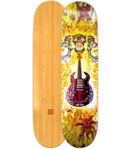 Musicares Graphic Bamboo Skateboard  ***DISCONTINUED***