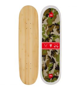 Camo Graphic Bamboo Skateboard
