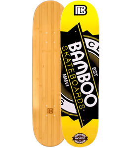 Seal Graphic Bamboo Skateboard