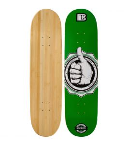 A-Okay Graphic Bamboo Skateboard