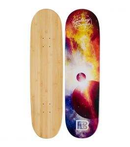 Eclipse Graphic Bamboo Skateboard ***DISCONTINUED***