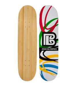Olympic Slash Graphic Bamboo Skateboard ***DISCONTINUED***