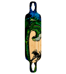 Green Giant Twin Tip Longboard