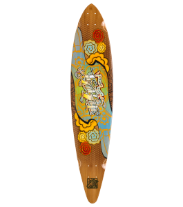 Trurute TR Ink Pin Tail Longboard