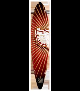 Trurute Strigiforme Pin Tail Longboard