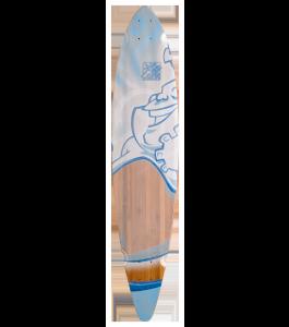 Trurute Laughing Booda Pin Tail Longboard