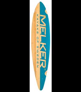 Melker B Pin Tail Longboard