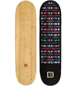 Native Graphic Bamboo Skateboard ***DISCONTINUED***