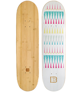 Traveler Graphic Bamboo Skateboard ***DISCONTINUED***