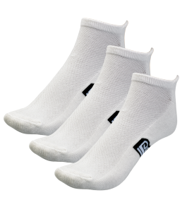 White Bamboo Skate Socks - 3 Pack