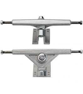Raw Silver Radeckal Standard Reverse King Pin Longboard Trucks