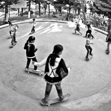 We chose to support Skateistan - an organization that uses skateboarding to shape underprivileged kids' lives